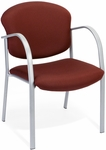 Danbelle Fabric Guest and Reception Chair - Burgundy [414-63-BURGUNDY-FS-MFO]