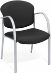 Danbelle Fabric Guest and Reception Chair - Ebony [414-20-EBONY-FS-MFO]