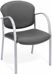 Danbelle Fabric Guest and Reception Chair - Graphite [414-13-GRAPHITE-FS-MFO]