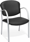 Danbelle Anti-Microbial and Anti-Bacterial Vinyl Contract Reception Chair - Black [414-VAM-606-FS-MFO]