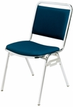 Convention Stacker Square Back with Chrome Finish Chair [675-MTS]