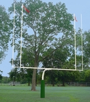 Convertible High School/College Goal Posts - White [FB55HSCG-WT-BIS]