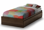 Cookie Collection Twin Mates Bed (39'') Mocha