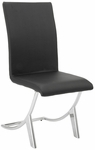 Cordelia Side Chair in Black [80950BLK-FS-ERS]