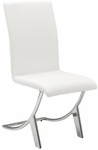 Cordelia Side Chair in White [80950WHT-FS-ERS]