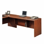 Cornerstone Wooden 65''W Desk Return with Melamine Top - Classic Cherry [404380-FS-SRTA]