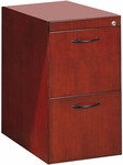 Corsica File File Pedestal for Credenza or Return- Sierra Cherry on Cherry Veneer [CFFCCRY-FS-MAY]