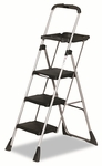 Cosco® Max Work Platform Project Ladder,225lb Duty Rating,22''W x 31''D x 55''H,Steel,Black [CSC11880PBLW1-FS-NAT]