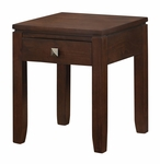 Cosmopolitan Collection Coffee Brown End Table [INT-AXCCOS-END-CF-FS-SIH]
