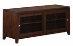 Cosmopolitan Collection Coffee Brown TV Media Stand [INT-AXCCOS-TV-CF-FS-SIH]