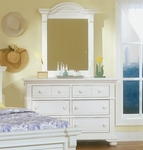 Cottage Traditions Double Dresser in Eggshell [6510-260-FS-AWC]