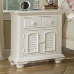 Cottage Traditions Large Nightstand Eggshell [6510-412-FS-AWC]