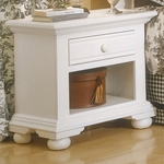 Cottage Traditions Small Nightstand Eggshell [6510-410-FS-AWC]
