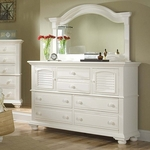 Cottage Traditions Tall Dresser in Eggshell [6510-262-FS-AWC]