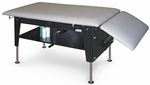 Crank Hydraulic Changing/Treatment Table - 30''W X 52 - 68''L X 20 - 30''H [HAU-4703-FS-HAUS]