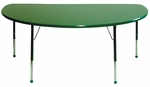Creative Colors 48'' Half Round Activity Table [48HR-MHR]
