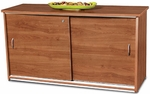 Sliding Door Credenza - Cherry Finish [55135-CHY-FS-MFO]
