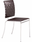 Criss Cross Dining Chair in Espresso [333010-FS-ZUO]