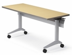 Cruz Rectangular Tilt Table with Standard Edge - 24'' x 42'' [CZ2442CTT-LS-FS-CMF]