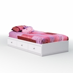 Crystal Collection Twin Mates Bed [3550080-FS-SS]