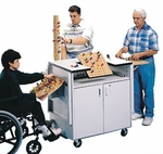 Cubex Therapy System on Wheels - 38''W X 24''L X 38''H [HAU-6690-FS-HAUS]