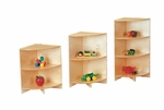 Stationary Curves Corner Storage Shelf [4005JC-JON]