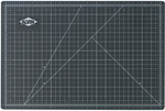 Reversible Black and Green Vinyl Cutting Mat - 24''W x 36''D [GBM2436-FS-ALV]