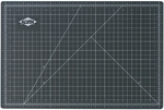 Reversible Black and Green Vinyl Cutting Mat - 30''W x 42''D [GBM3042-FS-ALV]