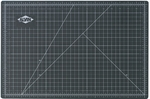 Reversible Black and Green Vinyl Cutting Mat - 36''W x 48''D [GBM3648-FS-ALV]