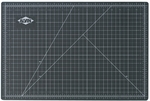 Reversible Black and Green Vinyl Cutting Mat - 40''W x 60''D [GBM4060-FS-ALV]