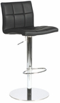 Cyd Bar/Counter Stool in Black [17180BLK-FS-ERS]