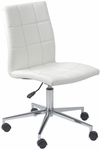 Cyd Office Chair in White [17181WHT-FS-ERS]