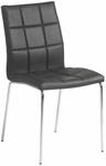 Cyd Side Chair in Black (Set of 4) [17182BLK-FS-ERS]