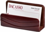 Classic Leather Business Card Holder - Mocha [A3007-FS-DAC]