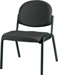 Dakota 19.3'' W x 18.5'' D x 31'' H Armless Side Chair - Fabrix [8014-FAB-FS-EURO]