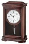 Dark Brown Alder Mantel Clock [QXQ013BLH-FS-SEI]