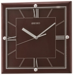 Dark Brown Wall Clock [QXA602BLH-FS-SEI]