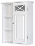 Dawson Wall Cabinet with 1 Door & Shelves [6827-FS-EHF]