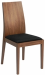 Deanna Side Chair in Walnut - Set of 2 [38541WAL-FS-ERS]