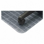 Deflect-O Duramat Checkered Rectangular Chairmat [DEFCM83443F-FS-SP]