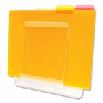 Deflect-O Wall Mount File & Chart Holder [DEF65501-FS-SP]