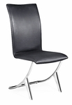 Delfin Dining Chair in Black [102101-FS-ZUO]