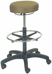 Delta 25'' W x 24.5'' H Adjustable Height Stool with Footring [E-16501-ST-FS-EOF]