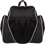 Deluxe All-Purpose Backpack in Black [BP1810BK-FS-CHS]