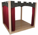 Deluxe Castle Design Indoor Stage with Curtains [SK5140CP-SFK]