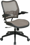 Space Deluxe Air Grid Back Swivel Task Chair with Cantilever Arms - Latte [13-88N1P3-FS-OS]