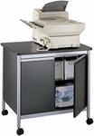32'' W x 24.25'' D x 30.25'' H Deluxe Machine Stand - Black and Silver [1872BL-FS-SAF]