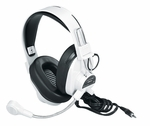 Deluxe Multimedia Stereo Headphones with Boom Microphone [3066AV-FS-CF]