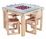 Deluxe School Age Game Table,  26''H [SK2567SA-SFK]
