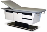 Deluxe Treatment Table in Folkstone Gray - 27''W X 76''L X 31''H [HAU-4796-FS-HAUS]